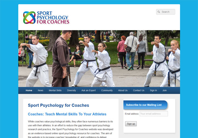 Sport Psychology for Coaches